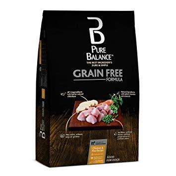 Pure Balance Grain Free Chicken & Pea Recipe Dry Dog Food, 24 lbs ()