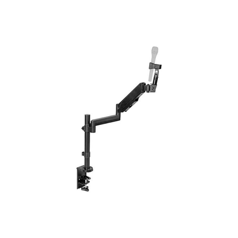 VIVO Black Height Adjustable Pneumatic S