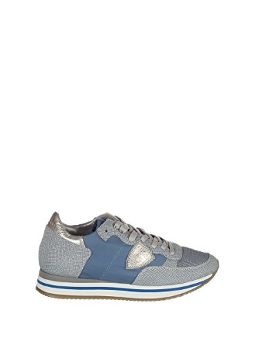 Philippe Model Damen THLDVP05 Blau Leder Sneakers