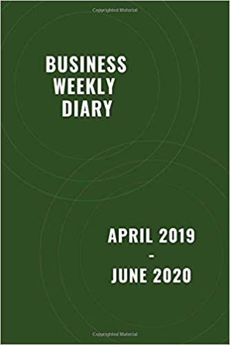 Business Use Of Home 2020.Business Weekly Diary April 2019 June 2020 Tax Year Diary