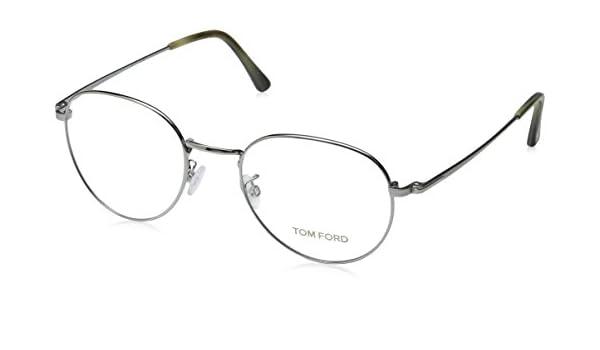 cddee008057 Tom Ford Eyeglasses TF 5328 Eyeglasses 012 Dark gunmetal with beige horn  51mm  Amazon.ca  Jewelry