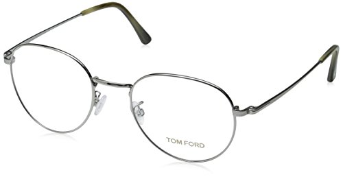 Tom Ford Eyeglasses TF 5328 Eyeglasses 012 Dark gunmetal with beige horn - Tom Ford Men For Clothes
