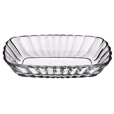 Pasabahce Glass Mezze Bowl, Clear