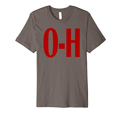O-H Couples Matching Ohio Sports Football Funny Fun