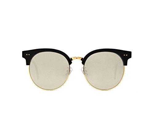 373d8556353 Sunglasses Gentle Monster Moon cut.s Black Round - Buy Online in UAE ...