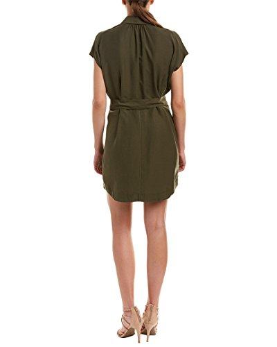 Lerner Xs David Donne Verde Shirtdress Cintura IU7x57Fq