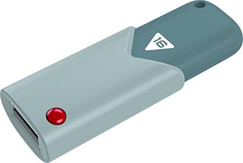 EMTEC ECMMD16GB102 Click USB 2.0 Flash Drive Navy Blue/Lime Green/Gray/Pink