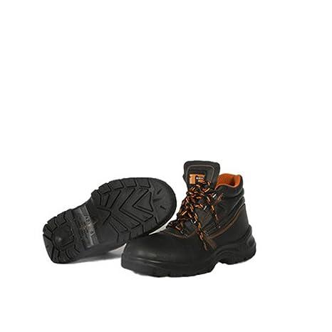 Zapatos Botas Botas Seguridad Alta SP1 Producto Italia Trabajo, Negro
