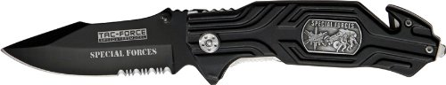Tac Force TF-582SF Assisted Opening Folding Knife, 4.5-Inch Closed, Outdoor Stuffs