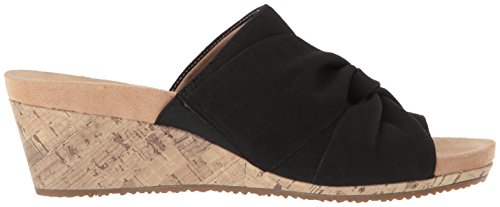 Sandal Black LifeStride Women's Wedge Mallory gaatZ4