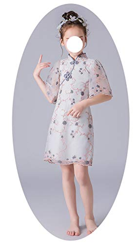 LittleNaNa-Cloth Cheongsam Girl Dress Chinese Style Children's Ball