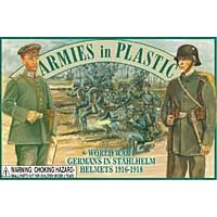 Alemanes en cascos Stahlhelm (20) 1-32 Ejércitos en plástico