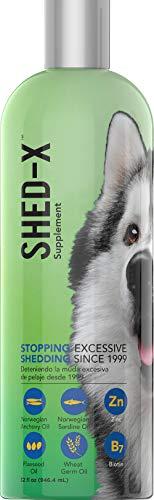 SynergyLabs Shed-X Dermaplex Liquid Supplement for Dogs (2 Bottle - 32 fl. oz.) (Shed X Dermaplex)