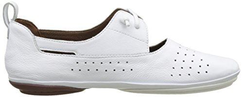 Bianco Brogue Scarpe Right 002 White Donna Basse Nina Camper Natural Stringate Zq0xUwwg