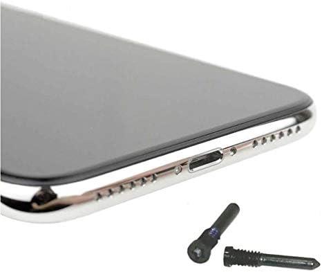 KRS SX Schwarz Schraube f/ür iPhone X Xs Schraube Pentalobe unten Geh/äuse//Display Befestigung