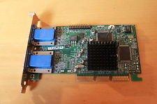 (MATROX 971-0301 16MB AGP VIDEO CARD WITH DUAL VGA OUTPUTS)