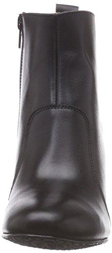 Johannes W. Kizzy - botas de cuero mujer negro - negro (Negro)