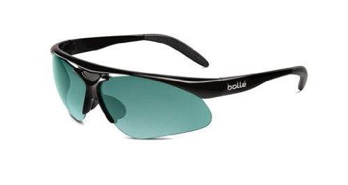 Bolle Performance Vigilante Sunglasses (Matte Black/T-Standard Lens Set (Competivision + TNS (Bolle Wrap Around Sunglasses)