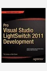 Pro Visual Studio Lightswitch 2011 Development Paperback