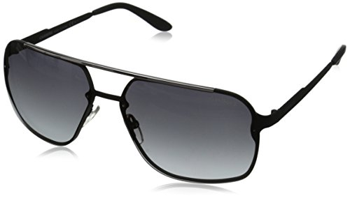 Carrera Ca91s Rectangular, Matte Black, 64 ()