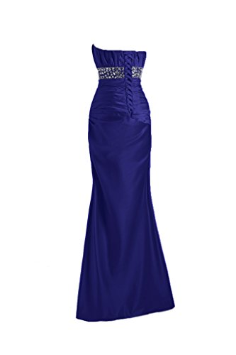 TOSKANA BRAUT - Vestido - Sin tirantes - para mujer Azul Real