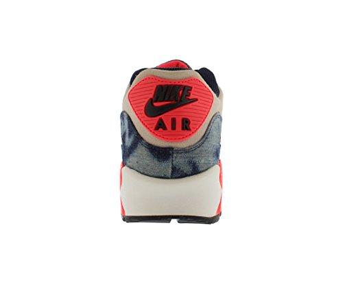 Nike Air Max 90 Dnm Qs Herre Trænere 700875 Sneakers Sko Midnat Flåde / Sort-hvid-infrarød g74eiL