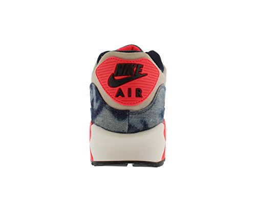 Nike Air Max 90 DNM QS Herren Turnschuhe 700875 Turnschuhe Midnight Navy / Schwarz-Weiß-Infrarot