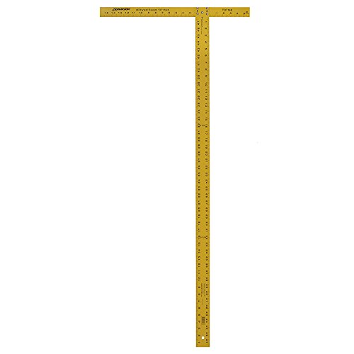 Swanson TDT148 Drywall Square, 48, Yellow