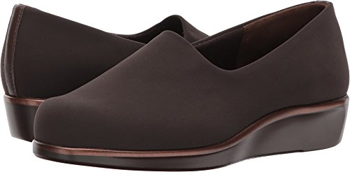 SAS San Antonio Shoe Women's, Bliss Slip On Low Heel Shoes Brown