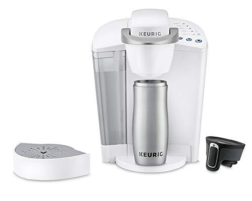 Keurig K-Classic Coffee Maker, K-Cup Pod, Single Serve, Programmable, White by Keurig (Image #3)