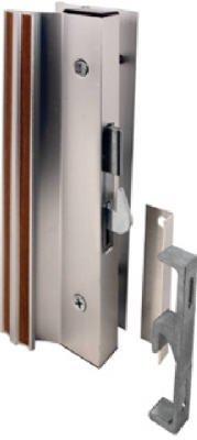 Door Pro Style Handle (Slide-Co 14206 Sliding Glass Door Handle Lock, Hook Style, Surface Mount, Aluminum)
