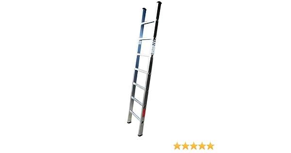 Homelux 825011 Escalera Aluminio Simple, 2 m, 7 Peldaños, 4 kg: Amazon.es: Jardín