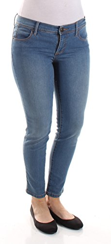 Free People Womens Roller Cropped Skinny Jeans Lou Blue 27 from Free People