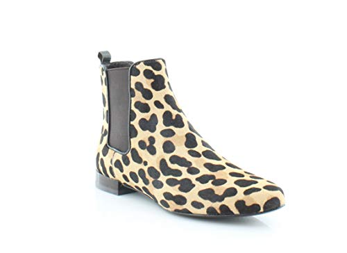 Tory Burch Orsay Bootie Women's Boots Leopard Print/Coconut Size 7 M