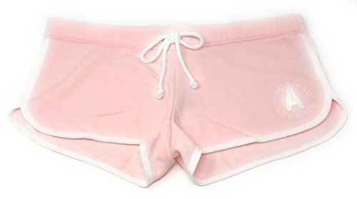 Abercrombie and Fitch Women's Lounge Shorts Large Light Pink (Abercrombie Clothing)