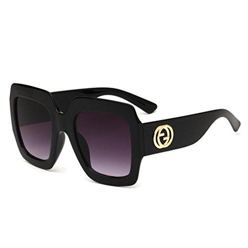 Gafas Mujer Hombre Grande Europeo e para y Sol y Frog Montura Gafas Trend de Europeo Mirror b con Sol Estilo de RDJM y xwYqIpF0p