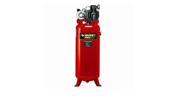 VT6314HDRB - Husky 3.2 Running HP 60 Gallon Compressor - Air Compressors - Amazon.com