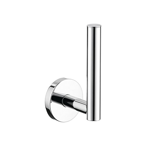 Hansgrohe Holder (Hansgrohe 40517000 S and E Accessories Spare Toilet Paper Holder, Chrome)