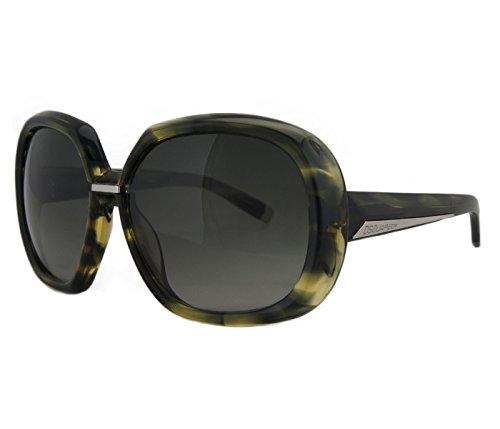 DSquared DQ 0050/S 95B Green Tortoise Oversized Square Full Rim - Sunglasses Dq