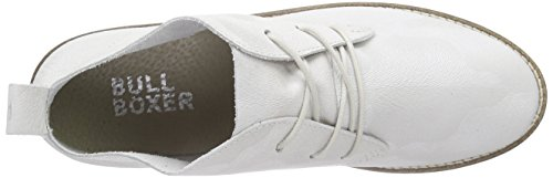 Bullboxer Women's 810E5L500 Lace-up Flats Grey - Grau (Pear) cheap price from china cheap sale clearance store cheap new MD0kvAKm