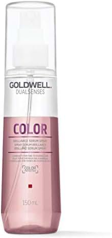 Goldwell Dualsenses Color Brilliance Serum Spray for Unisex Serum, 5 Ounce