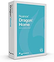 Dragon Home 15.0, Dictate Documents and Control your PC – all by Voice, PC Disc