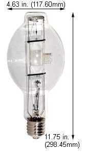 HID Light Bulbs M400U/4K Clear Mogul Base (Case of 6)