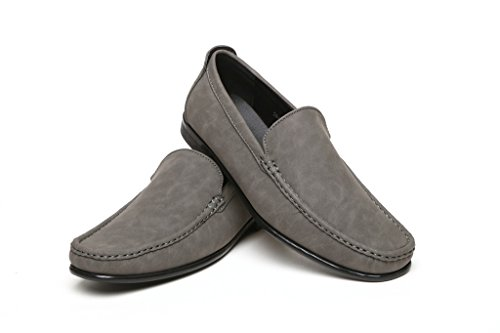 Chaussures Enfiler Antidérapante À Enfiler À Décontracté Décontracté Mocassins Gris Semelle Semelle Chaussures Hommes Hommes Mocassins FpPqwRCv