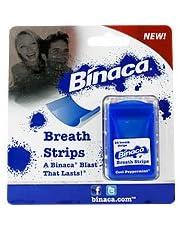 Breath Strips Cool Peppermint - Instantly Freshen Your Breath, 24 ct,(Binaca) by Binaca