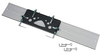 2bff158a7fa9f4 Wolfcraft 6910000 1 Guide de Scie Circulaire Fks 115 Équipé de 2 Serre- joints