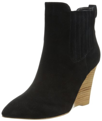 Madison Harding Womens Nero Chelsea Boot Black Suede