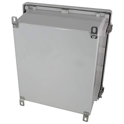 Altelix 14x12x8 FRP Fiberglass NEMA 4X Box Weatherproof Enclosure with Hinged Lid & Stainless Steel Latches by Altelix (Image #4)