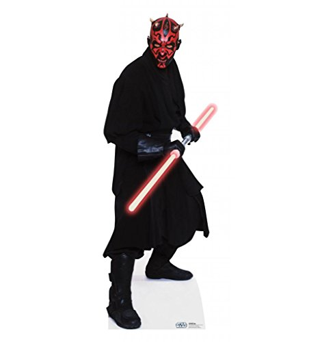 Darth Maul - Star Wars Prequel Trilogy - Advanced Graphics Life Size Cardboard Standup