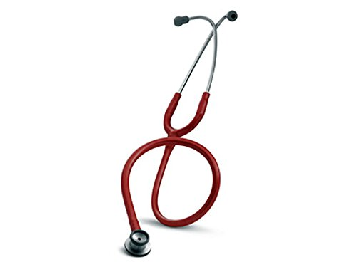 3M Littmann Stethoscope, Classic II Infant, Red Tube, Stainless Steel Chestpiece, 28 inch, 2114R